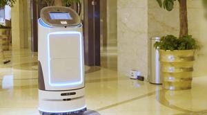 星速购  酒店客房物流机器人